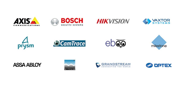 logos des marques controle acces